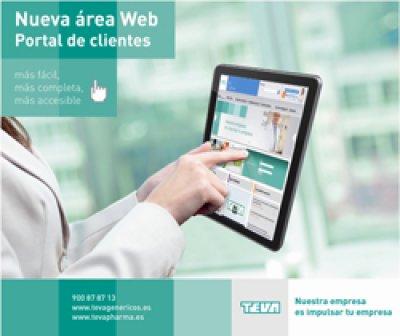 nuevo portal de clientes de teva dentro de su pgina web