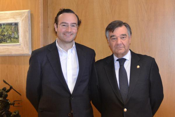 el nuevo presidente de fefe madrid muestra su disposicioacuten a colaborar con el cof de madrid