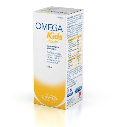 omegakids de laboratorios ordesa nuevo complemento alimenticio