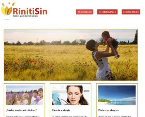 la pgina web de rinitisin ya es una realidad