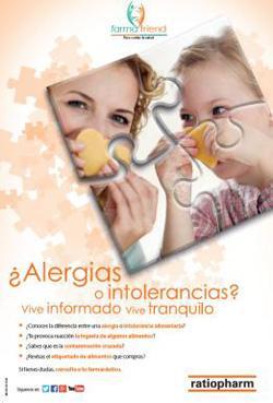 el papel del farmacutico como formador e informador sobre alergias alimentarias