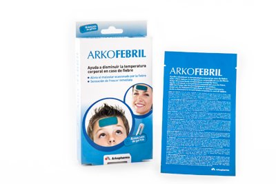 parches de gel frao arkofebril
