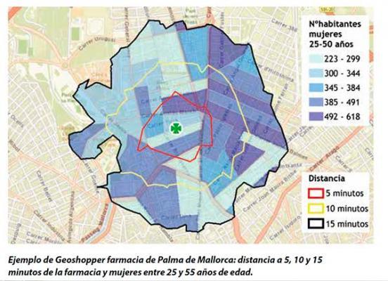 la poblacioacuten por farmacia en baleares y cataluntildea es diferencial para la farmacia