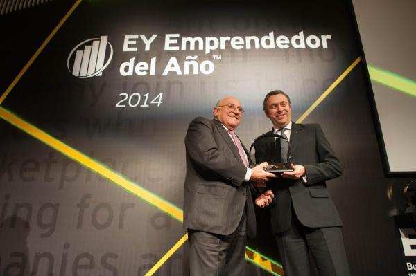 el presidente de laboratorios ordesa galardonado en la xix edicion de los premios emprendedor del ano