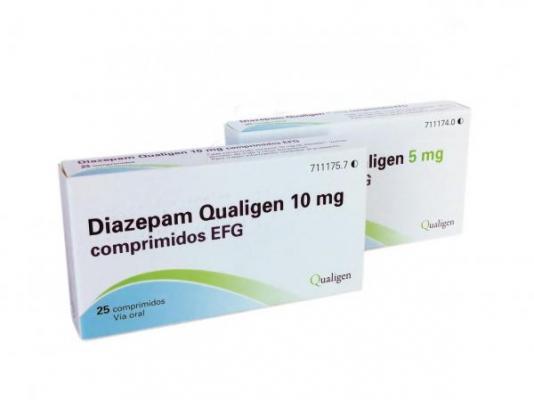 qualigen ampliacutea su gama de diazepam geneacuterico con dos nuevas presentaciones