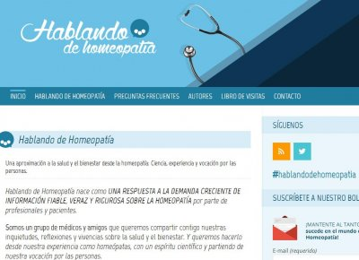 expertos mdicos se renen para contar su experiencia en el uso de la homeopata