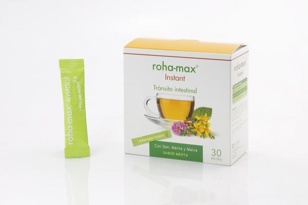 rohamax regula el transito intestinal y cuida del bienestar de manera natural
