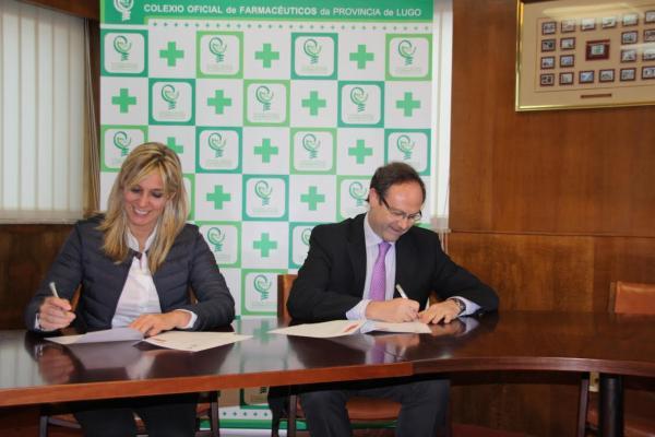 sefac y cof de lugo desarrollaran servicios profesionales farmaceuticos en las farmacias de la provincia