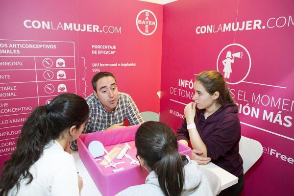 soacutelo el 642 de las chicas consulta con su ginecoacutelogo sobre el meacutetodo anticonceptivo a utilizar