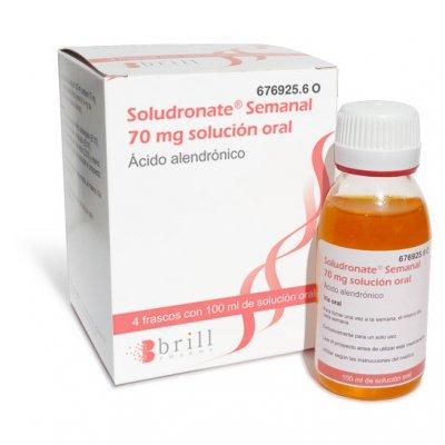 soludronate semanal el primer alendronato lquido para el tratamiento de la osteoporosis