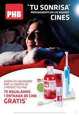 la sonrisa de los clientes de tu farmacia llega a los mejores cines