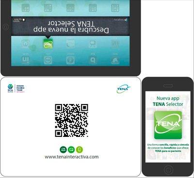 tena selector una app para dar soluciones de incontinencia urinaria