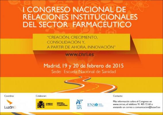 ultimos preparativos para el i congreso nacional de relaciones institucionales en el sector farmaceutico