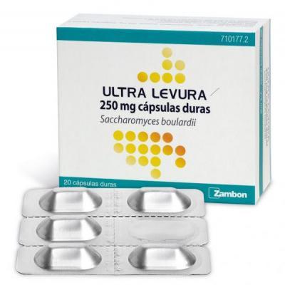 ultra levura regenera la microbiota intestinal con sunbspnuevo packaging en bliacutester de aluminio