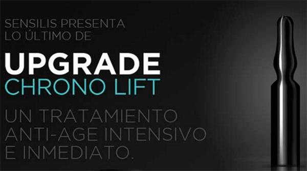 upgrade chrono lift ampollas el nuevo flash lifting y tratamiento antiage intensivo de sensilis