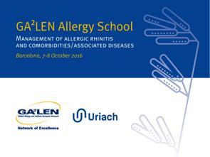 uriach patrocinaraacute la ga2len allergy school barcelona dedicada al tratamiento de la rinitis aleacutergica