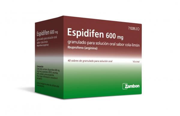 zambon lanza espidifen 600 mg granulado con nuevo sabor y formulacioacuten